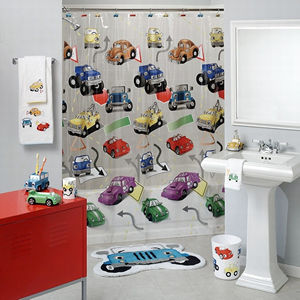 Home decor trends tips and decorating ideas blog kids for Kids shower curtain sets